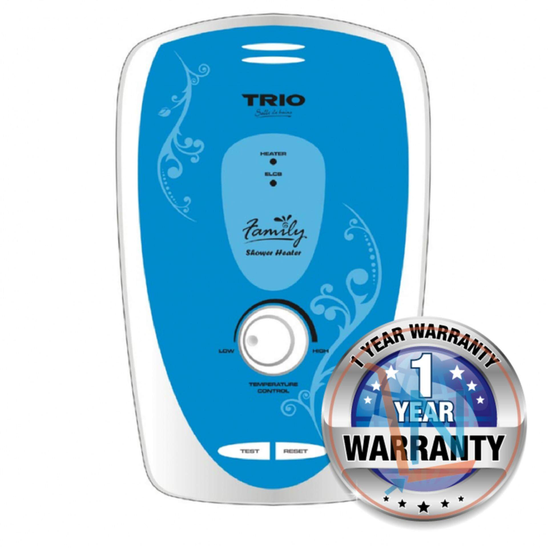 Trio TIH-933-BL Water Heater U.K. Heating Technology (Blue)