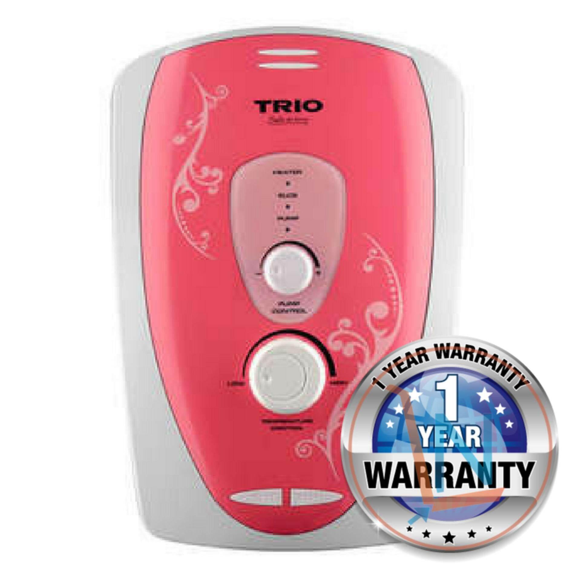 Trio TIH-933-RD Water Heater U.K. Heating Technology (Pink)