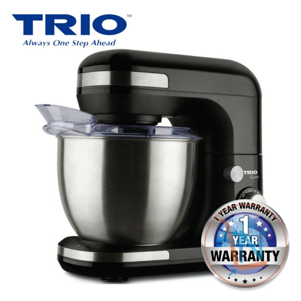 Trio TPM-601 Power Mixer with Stainless Steel Bowl - 5.0L (Black)