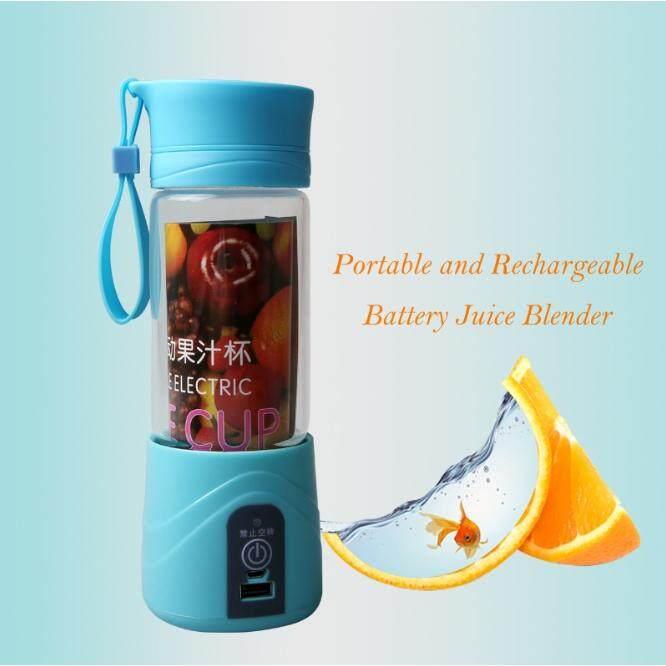 USB Portable &  Rechargeable Juice Blender Blue