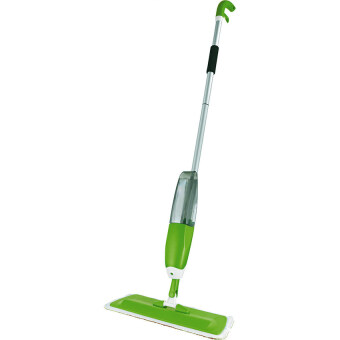 Washable Microfiber Spray Mop Clean Degerming Maintaining All inOne (Green) FREE 1 Pcs Replacemment Microfiber Spray Mop