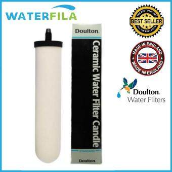 "Harga WATERFILA 10"" Doulton Standard Ceramic Candle Long and Short Mount*Genuine Quality Product Made In England*"