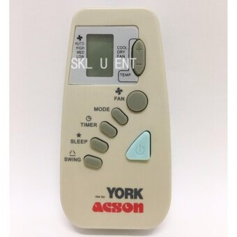 YORK / ACSON Air-Conditioner Remote Control