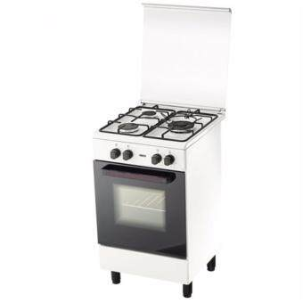 Harga Zanussi 3 Burner Freestanding Gas Cooker with 62L Gas Oven ZCG-530W