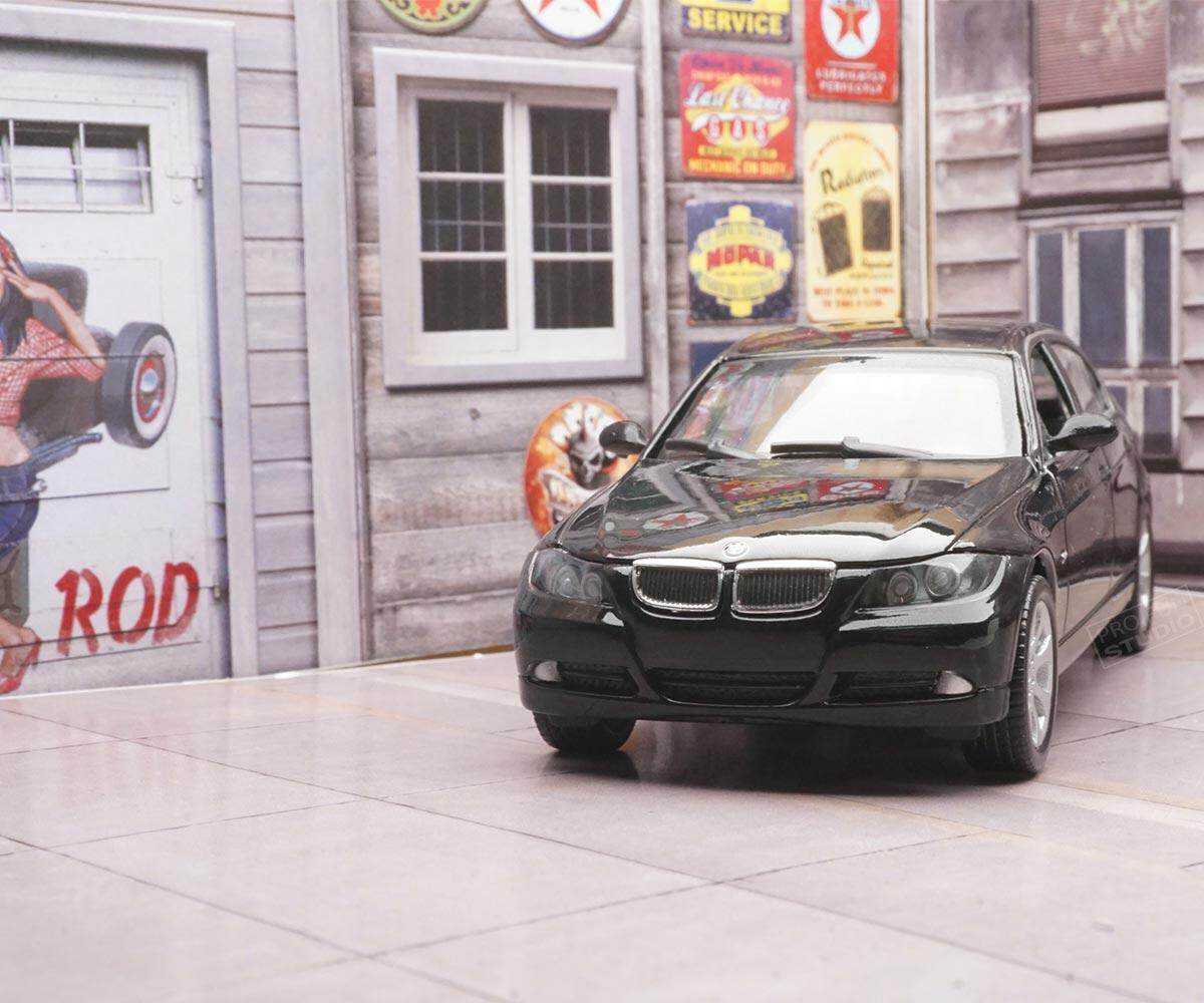 Welly BMW 330I M3 1/43 1:43 Diecast car model collection Black Limited Stock in World High Simulation