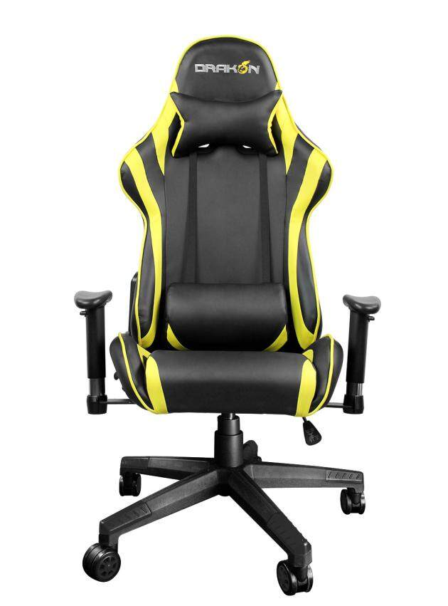 Raidmax Drakon DK706 Racing Gaming Chair with Adjustable Pillow Lift Seat High Back Swivel Chair PU Leather