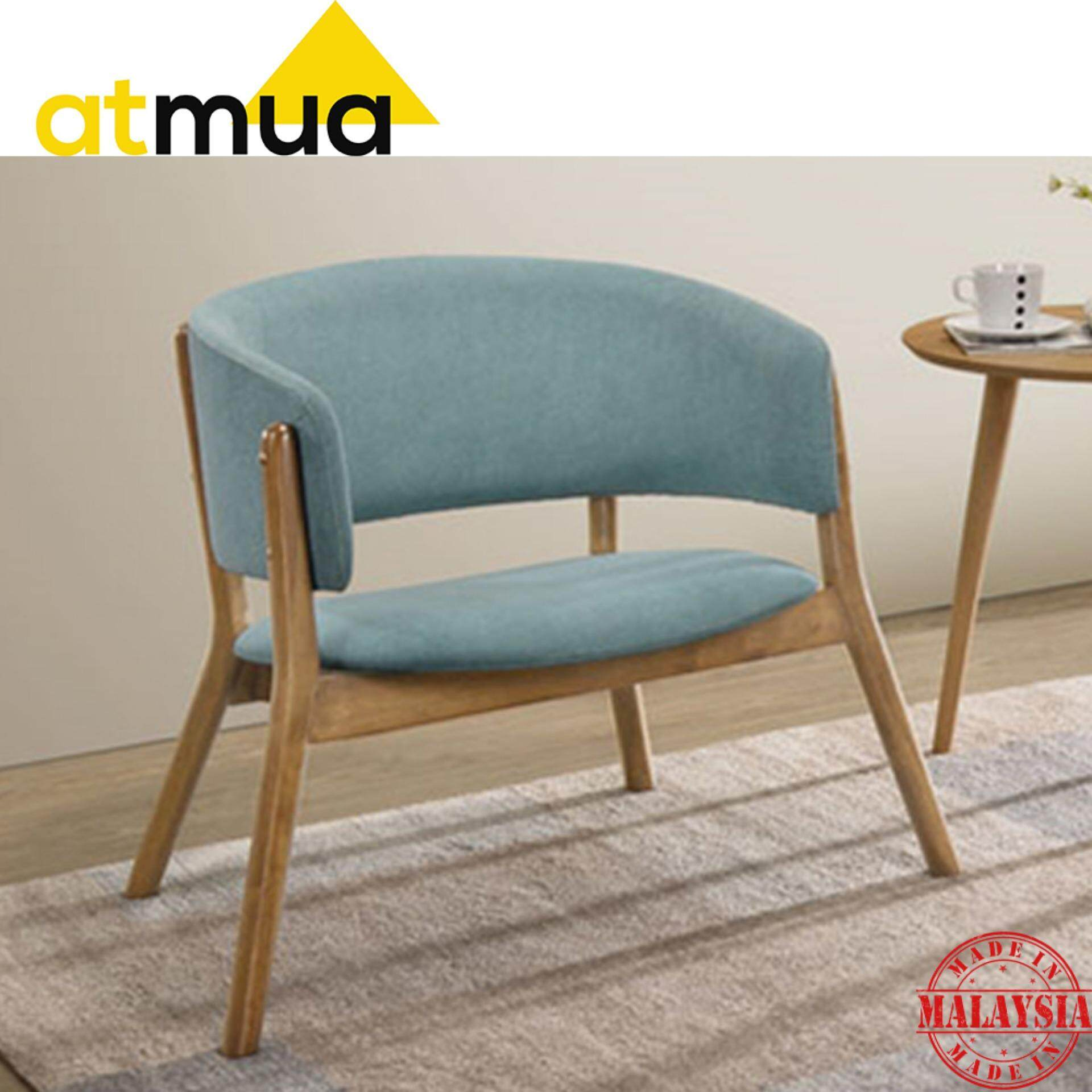 Atmua Milan Lounge Chair Set - [Full Solid Wood] (2 Unit Chair)