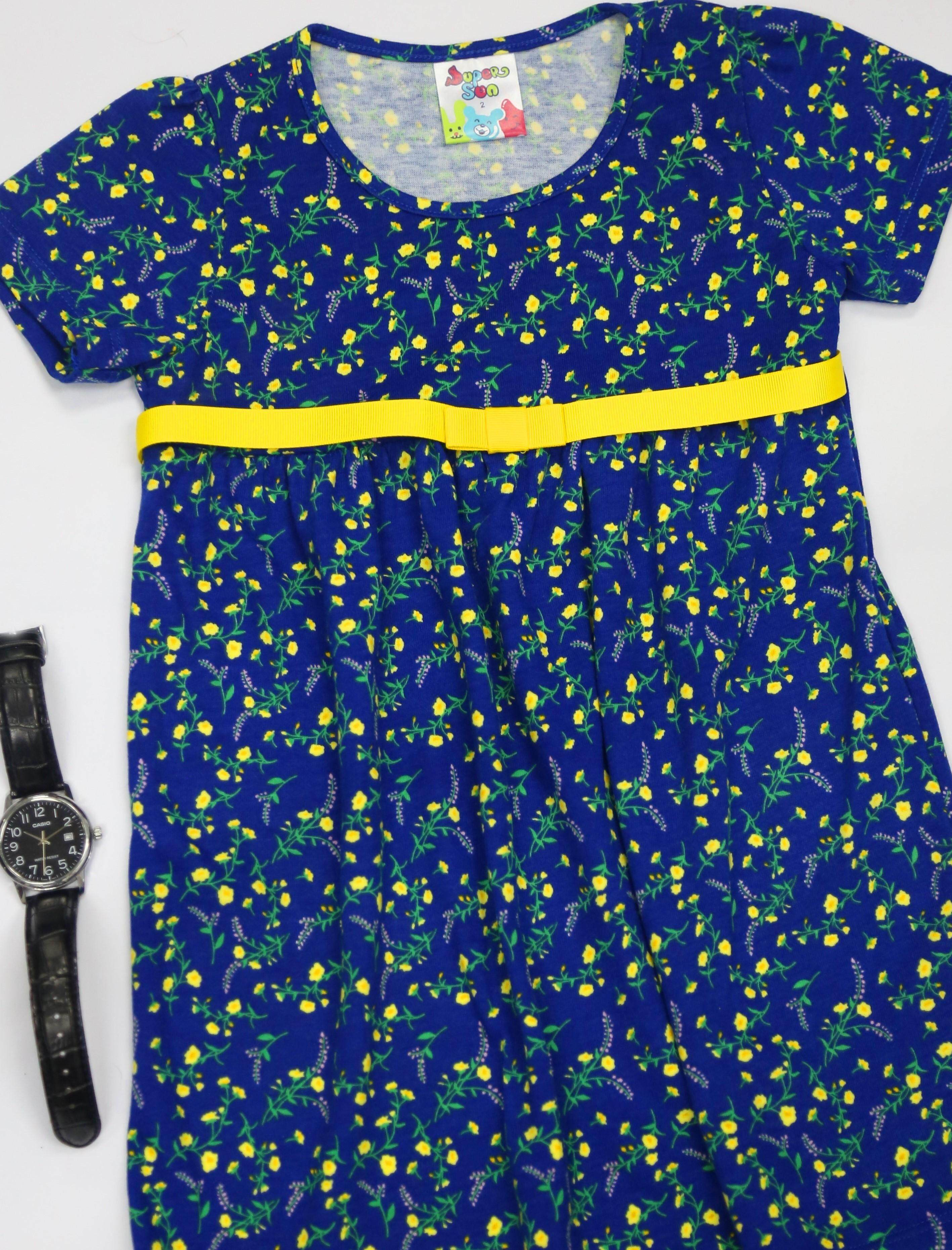 Supersun toddler Girl Dress Summer Fashion Clothes GD-29 Navy