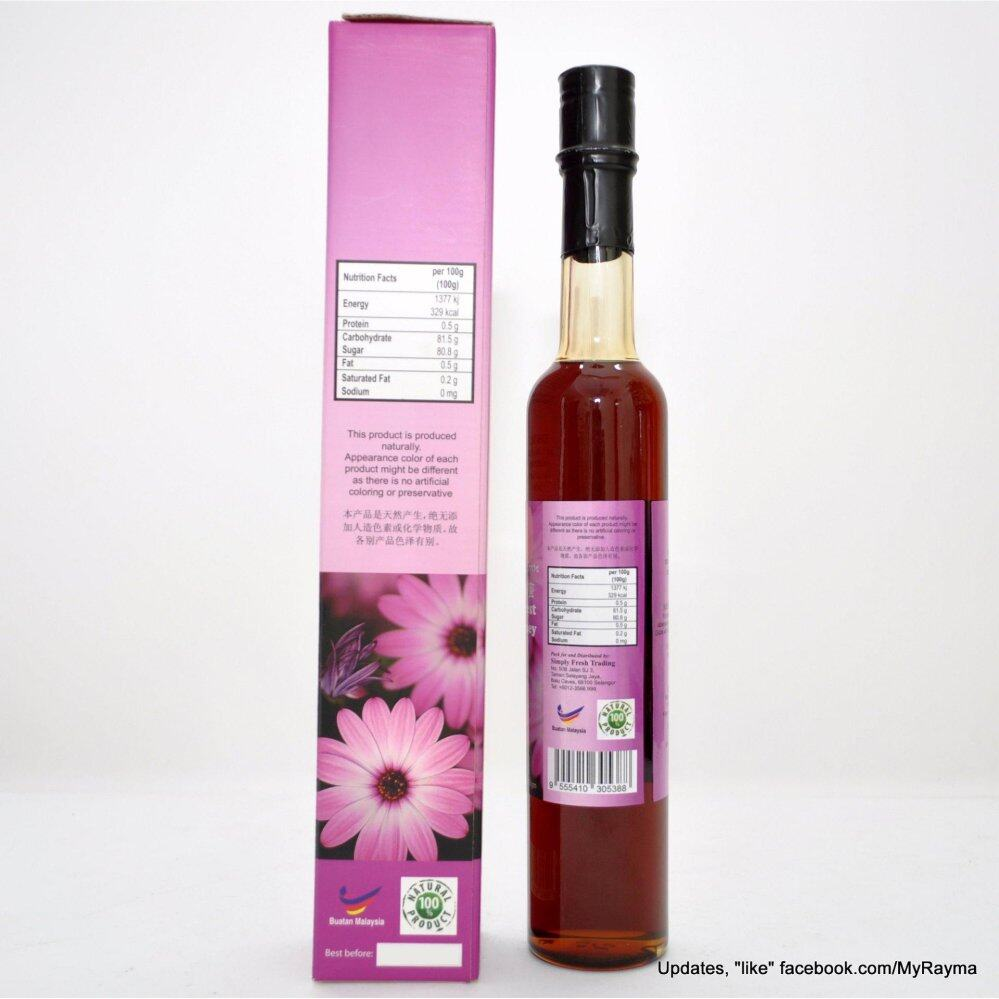 100% Rain Forest Pure Raw Wild Honey 500g