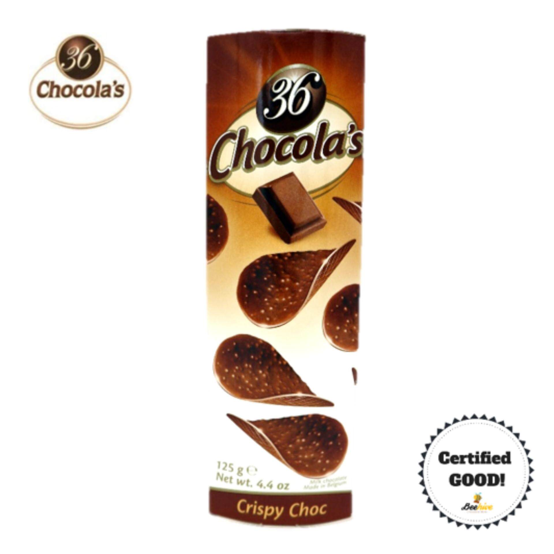 Malaysia Online Grocery Selling Chocolate Jules Destrooper Apple Thin Biscuits 100 Gr 36chocolas Crispy Choc 125g