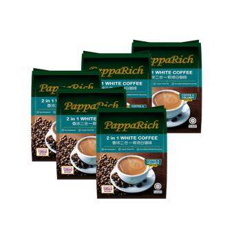 Harga [5 Pack Bundle] Papparich White Coffee 2in1 (25g x 12s)