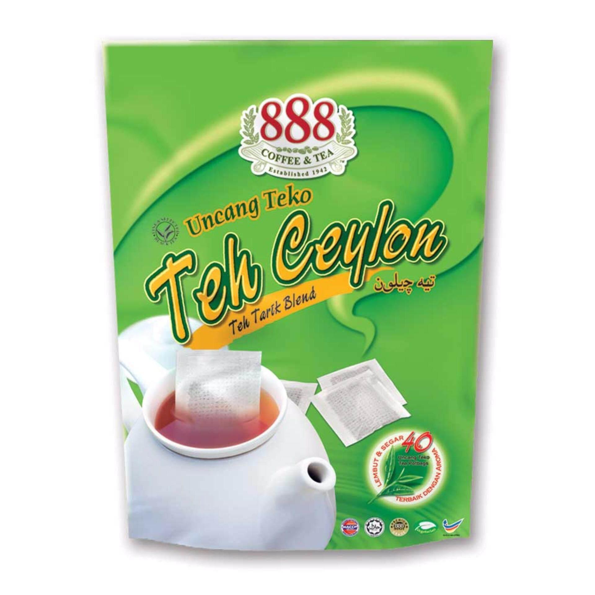 888 Teh Ceylon Pot Bag (2g x 40 Sachets)