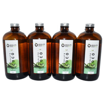 Absolute Coco Extra Virgin Coconut Oil 4 x 1 liter