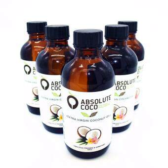 Harga Absolute Coco Extra Virgin Coconut Oil 5 x 125ml