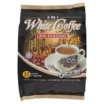 Aik Cheong 3 in 1 Ori White Coffee 15 x 40g