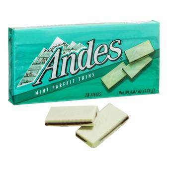 Harga Andes Mint Parfait Thins 132G (28 pcs)