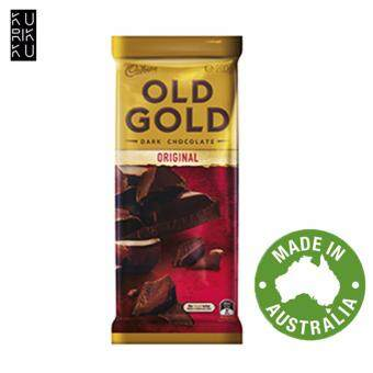 Harga Australia Cadbury Old Gold Dark Chocolate Original 200G