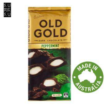Harga Australia Cadbury Old Gold Dark Chocolate Peppermint 200G
