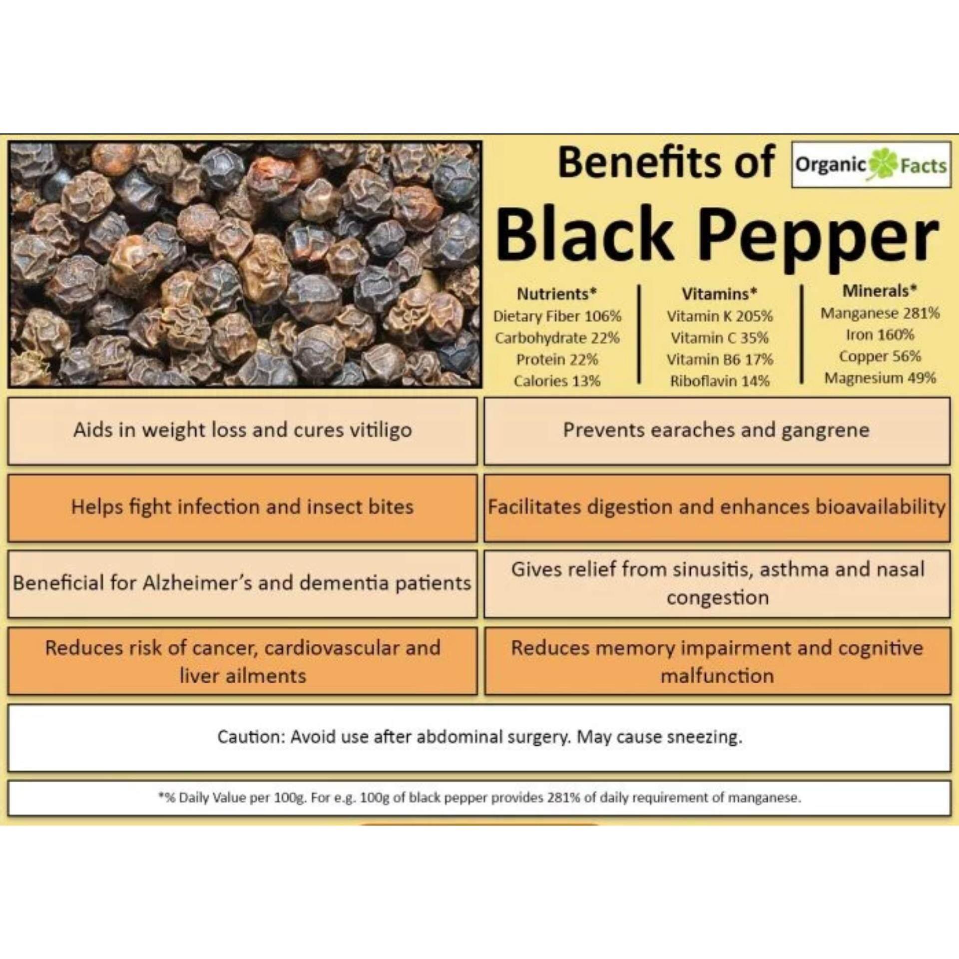Black Pepper / Lada Hitam (500g)