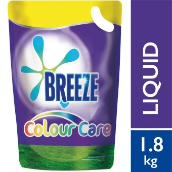 Breeze Detergent Liquid Color Care Refill Pack 1.8 kg