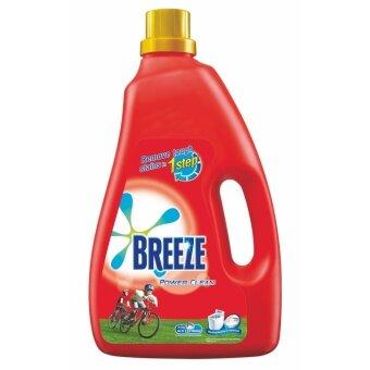 Breeze Detergent Liquid Power Clean 4 kg