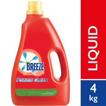 Breeze Detergent Liquid Power Clean 4kg