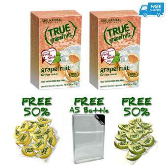 [Buy 2 FREE 3]True Grapefruit x 2 + FREE 50% True Lemon + FREE 50% True Lime + FREE A5 Bottle