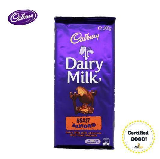 Cadbury Dairy Milk Roast Almond 200g *FREE Gift*