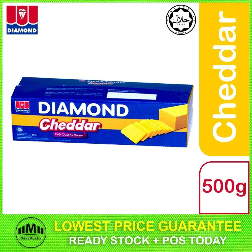 Diamond Processed Cheddar Cheese, 500g