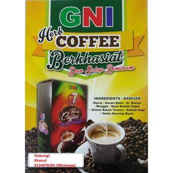 Harga Diet Coffee Al Manna GNI (combo pack)