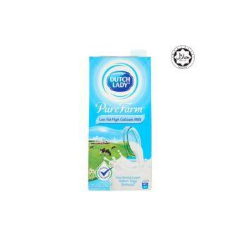 Dutch Lady Pure Farm UHT Low Fat High Calcium Milk 1L