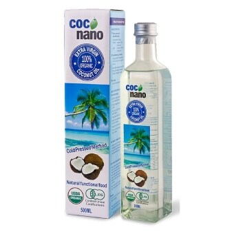Harga Extra Virgin Coconut Oil 500ml by Coco Nano (100% Organic)