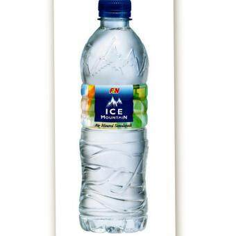 Harga F&N Ice Mountain Natural Mineral Water 600ML