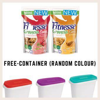 Fitnesse Granola Oats Buy 1 (Cranberry & Pumpkin Seeds 300g + 1 Granola  Honey 300g) FREE Container