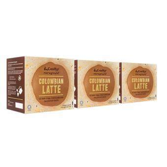 Harga [FREE SHIPPING] Chek Hup Microground Colombian Latte 28g x 6s (Bundle of 3)