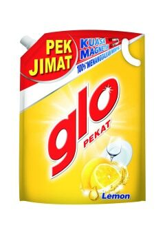Harga Glo Lemon Dishwash 1.7L Refill Pack