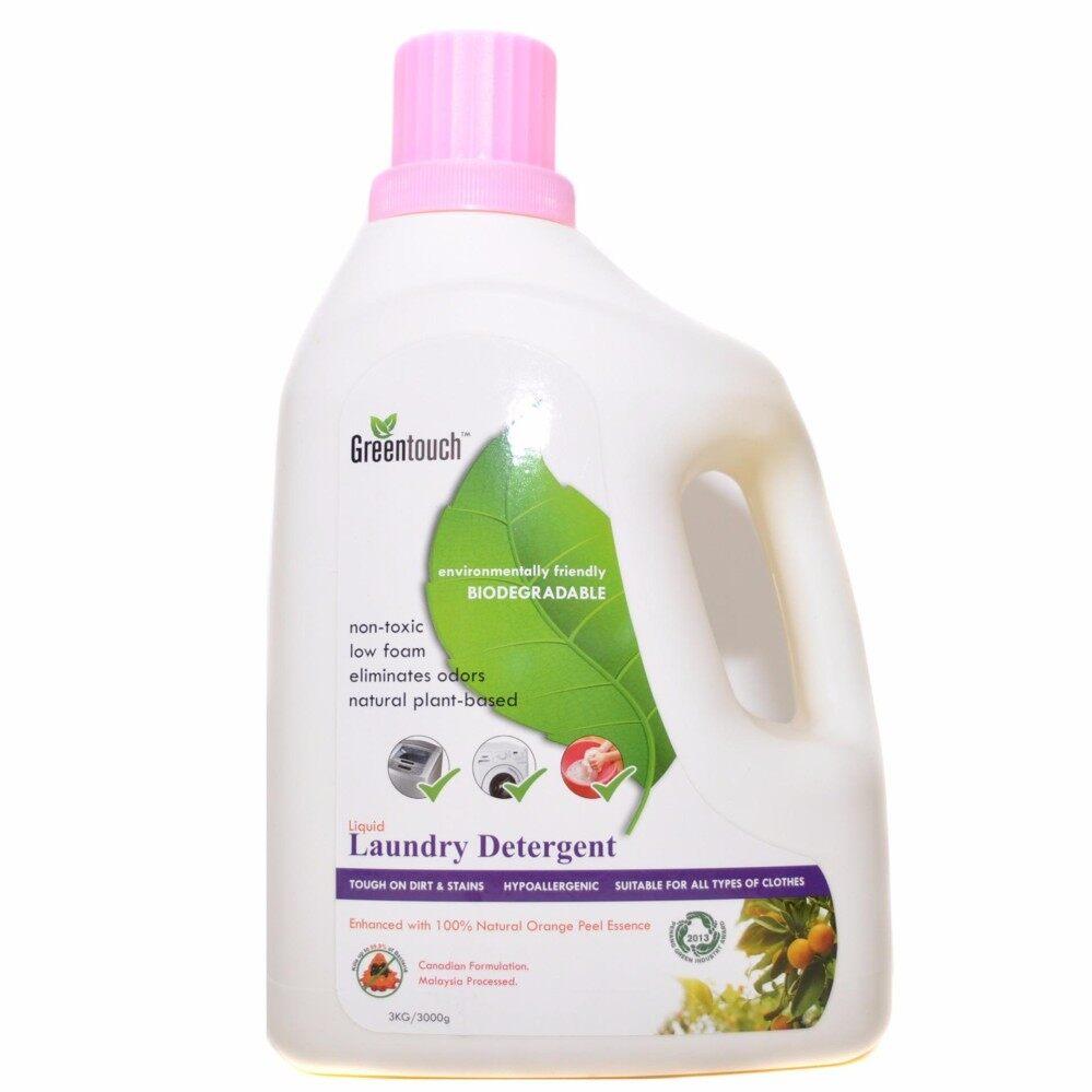 GREENTOUCH Laundry Detergent, 3KG