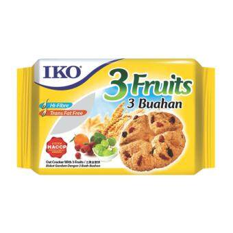 Harga IKO 3 FRUITS CRACKER 178G