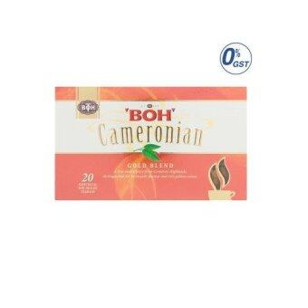 Harga BOH Cameronian Gold Blend 20 Individual Foil Sealed Teabags 40g