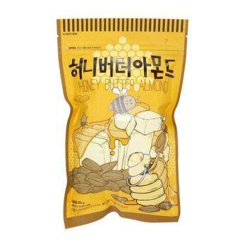 Harga Calbee's Korean Snack Honey Butter Almond (Imported From Korea) - 250 gm (set of 2)