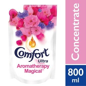 Harga Comfort Concentrate Fabric Softener Magical Aroma Refill 800 ml
