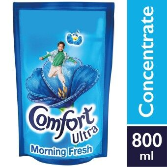 Harga Comfort Concentrate Fabric Softener Morning Fresh Refill 800 ml