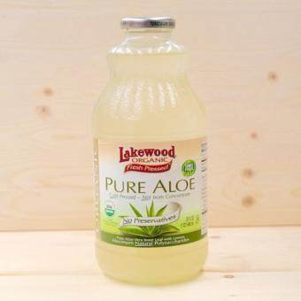 Harga LAKEWOOD Organic Pure Aloe Juice