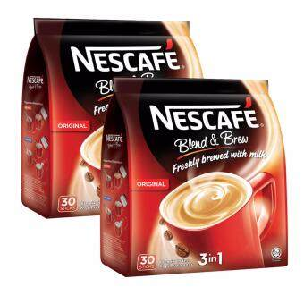 Harga Nescafe Blend & Brew Original 30 sticks, 2 Packs (SPECIAL OFFER)