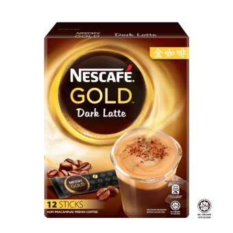 Harga NESCAFE Gold Dark Latte 12 Sticks