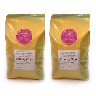 Harga 100% Arabica Coffee Beans Morning Glory Blend 500g X 2 Packs with FREE SHIPPING