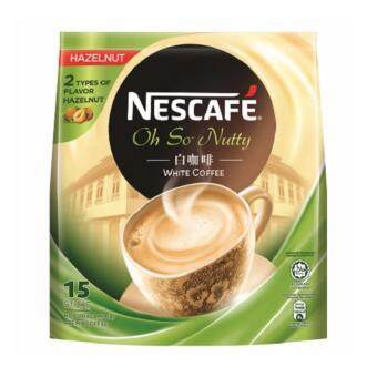 Harga NESCAFE Ipoh White Coffee Hazelnut 15x36g Sticks