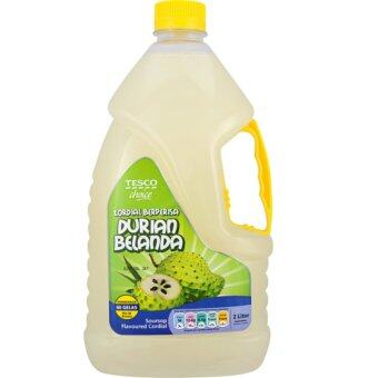 Harga TESCO CHOICE SOURSOP CORDIAL 2L