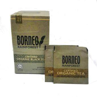 Harga Sabah Tea Borneo Rainforest Certified Organic Black Tea 20's