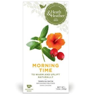 Harga Heath & Heather Morning Time Tea - (20 sachets)